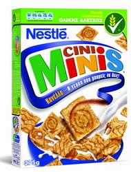 Δημητριακά NESTLE Cini Minis με γεύση κανέλλας