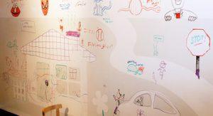 Ζωγραφήστε στους τοίχους όσες φορές θέλετε