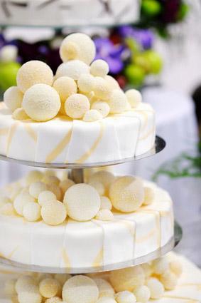 Tourta gamou wedding cake