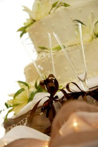 Wedding Cake gamilia tourta
