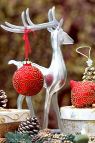 Χριστούγεννα στο σπίτι με χρώμα
