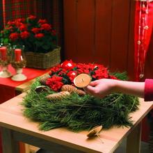 Διακοσμητικό Χριστουγεννιάτικο στεφάνι step 3