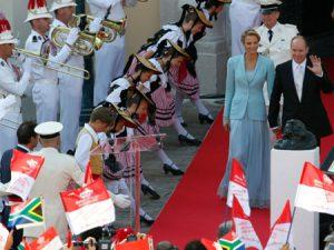 gamos Prince Albert II Charlene Wittstock