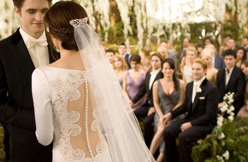 Edward and Bella wedding Twilight