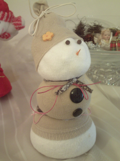 snowman diy winter and christmas project