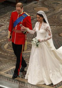 prigipas William kai Kate Middleton wedding