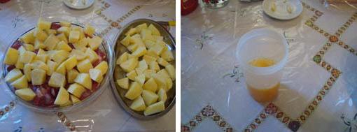 patates ximos portokali gia xoirino psito me patates