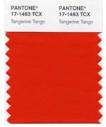 tangerine tango pantone's color of the year for 2012