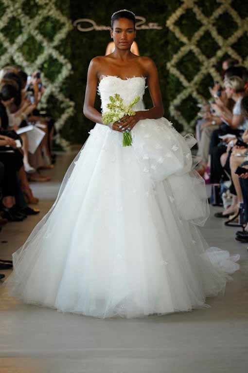 Bridal Collection Oscar de la Renta 2013