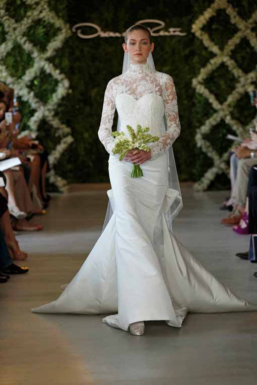 Wedding dress Oscar de la Renta 2013