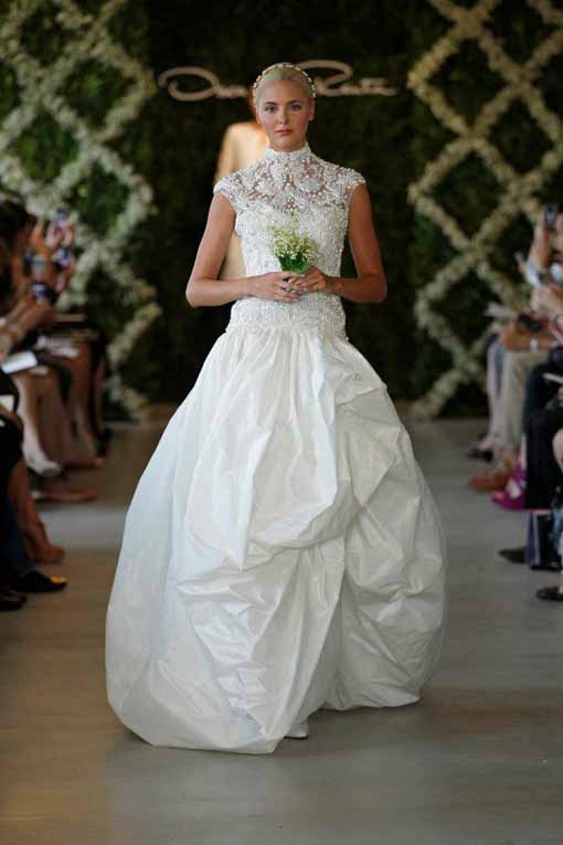 bridal collection 2013 Oscar de la Renta