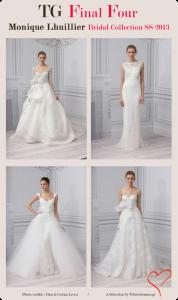 Best wedding dresses Monique Lhuillier spring summer 2013 collection