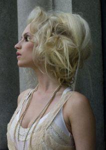 nyfiko xtenisma modern fashion wedding hairstyle