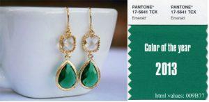 emerald xroma tis xronias 2013 apo tin pantone