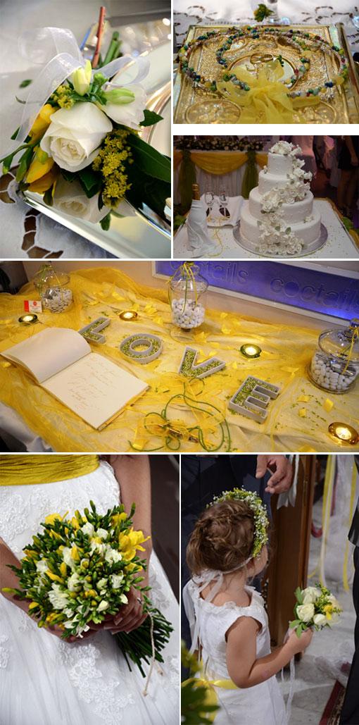 real wedding elena spyros kitrinos gamos
