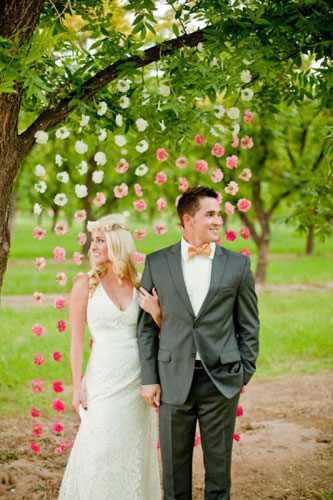 Wedding trends 2013 backdrops