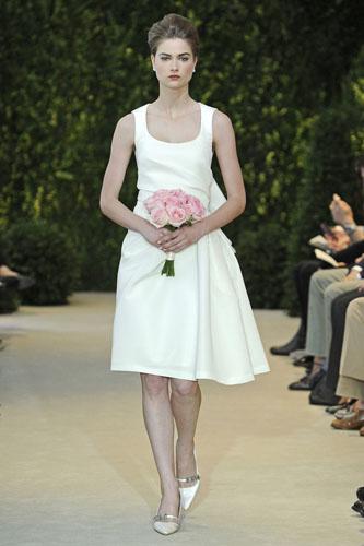 Carolina Herrera Bridal Spring Summer 2014