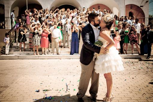 Real wedding Emmanouela Panagiotis kitrinos gamos