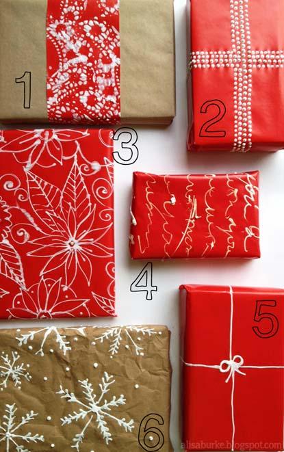 πώς τυλίγουν τα δώρα
