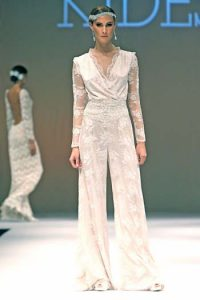 bridal jumpsuit trend 2014