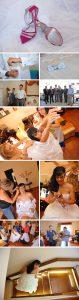 Η προετοιμασία του γαμπρού και της νύφης