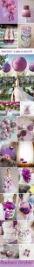 radiant orchid wedding color inspiration