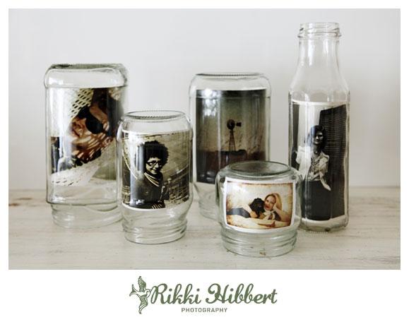 Φωτογραφίες μέσα σε γυάλινα βαζάκια