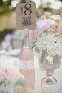 diy vintage floral wedding