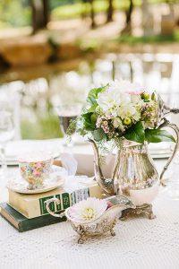 diy vintage floral wedding