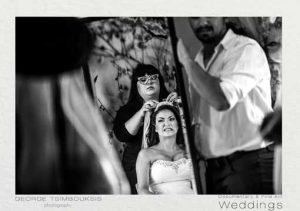 Αυθορμητισμός στις φωτογραφίες από την προετοιμασία της νύφης