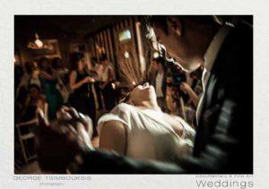 Στιγμές από το γαμήλια πάρτυ και τον πρώτο χορό του ζευγαριού