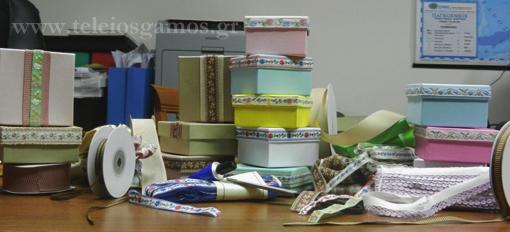 Bombonieres vintage ribbons