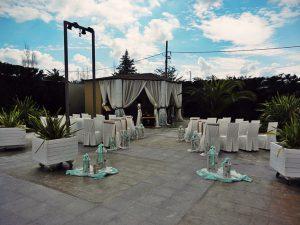 Εκκλησάκι στο Anais Club στη Βαρυμπόμπη