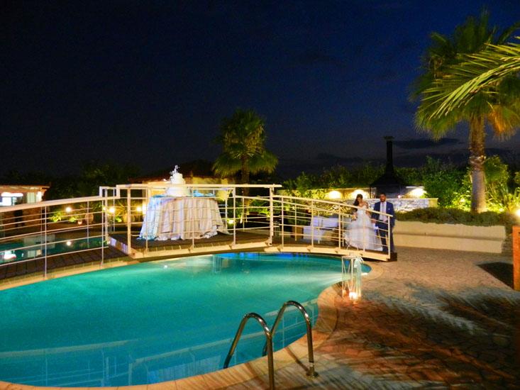 Χώρος Κνωσσός με πισίνα στο κτήμα Αριάδνη