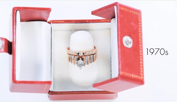 Μονόπετρο δαχτυλίδι αρραβώνων engagement ring 1970