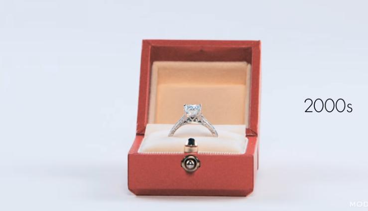 Μονόπετρο δαχτυλίδι αρραβώνων engagement ring 2000