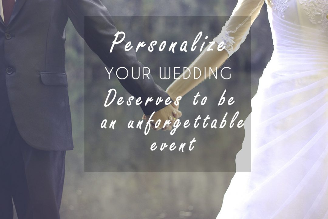 Wedding Trends personalized wedding
