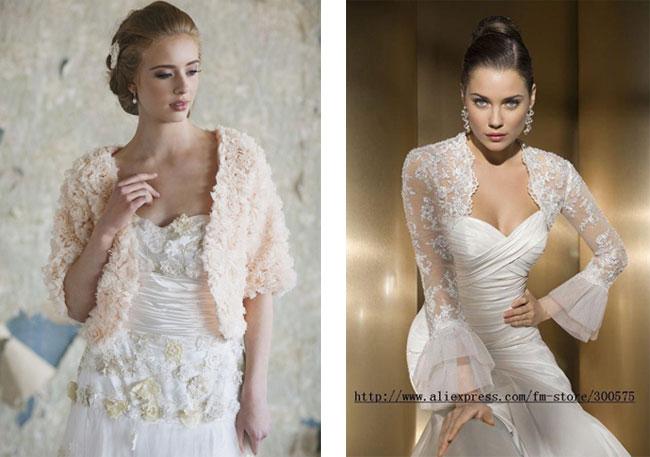 Μπολερό και cover ups για τη νύφη του φθινοπώρου και του χειμώνα