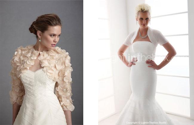 bolero cover up bridal