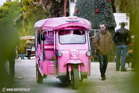 pink Tuk tuk