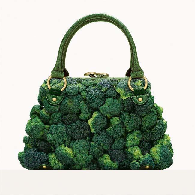 τσάντα από μπρόκολο