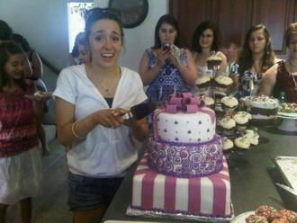 Η τούρτα του bridal shower