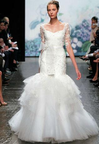 wedding dress monique luillier fall / winter 2012
