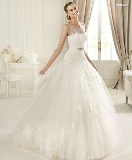 wedding dress pronovias glamour collection 2013