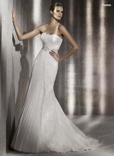 nyfika 2012 pronovias collection fashion