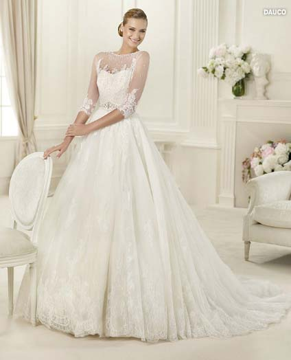 wedding dress pronovias costura collection 2013