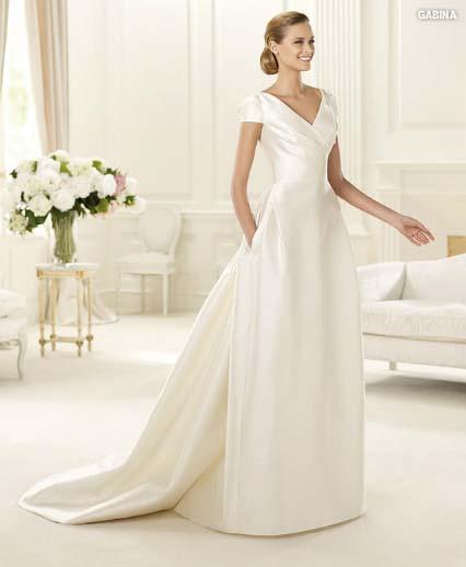 wedding dress pronovias manuel mota collection 2013