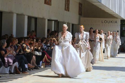 Loukia collection spring 2010 catwalk