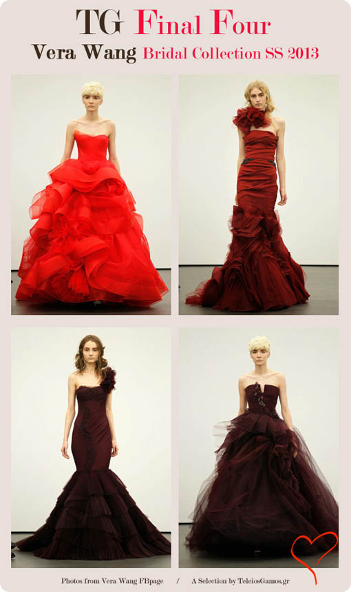 TeleiosGamos.gr final four best wedding dresses Vera Wang Spring/Summer 2013