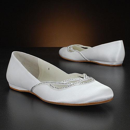 Flat νυφικά παπούτσια για τον χορό  Benjamin Adams